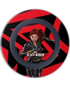 Black Widow Geometric Wireless Charger Skin