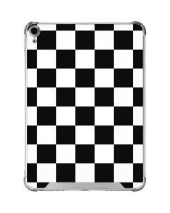 Black and White Checkered iPad Air 10.9in (2020) Clear Case