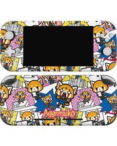 Aggretsuko Blast Nintendo Switch Lite Skin