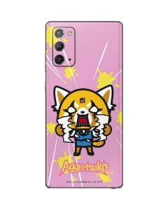 Aggretsuko Breaking Point Galaxy Note20 5G Skin