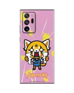 Aggretsuko Breaking Point Galaxy Note20 Ultra 5G Skin