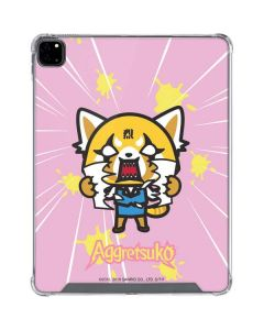 Aggretsuko Breaking Point iPad Pro 12.9in (2020) Clear Case