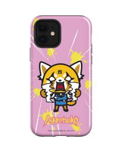 Aggretsuko Breaking Point iPhone 12 Case