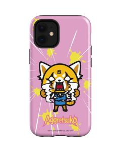 Aggretsuko Breaking Point iPhone 12 Mini Case