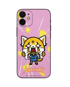 Aggretsuko Breaking Point iPhone 12 Mini Skin