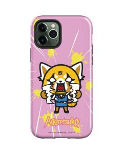 Aggretsuko Breaking Point iPhone 12 Pro Case