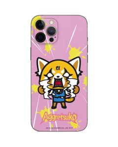 Aggretsuko Breaking Point iPhone 12 Pro Skin
