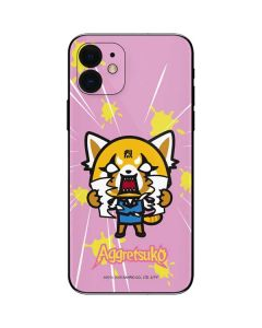 Aggretsuko Breaking Point iPhone 12 Skin