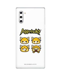 Aggretsuko Expressions Galaxy Note 10 Skin