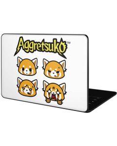 Aggretsuko Expressions Google Pixelbook Go Skin
