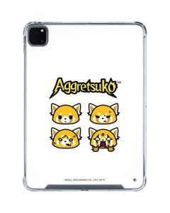 Aggretsuko Expressions iPad Pro 11in (2020) Clear Case