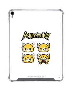 Aggretsuko Expressions iPad Pro 12.9in (2018-19) Clear Case
