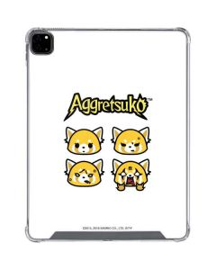 Aggretsuko Expressions iPad Pro 12.9in (2020) Clear Case