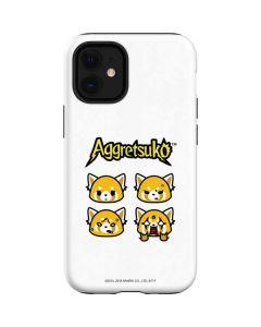 Aggretsuko Expressions iPhone 12 Mini Case