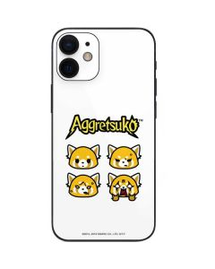 Aggretsuko Expressions iPhone 12 Mini Skin