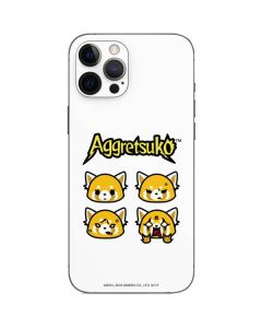 Aggretsuko Expressions iPhone 12 Pro Max Skin