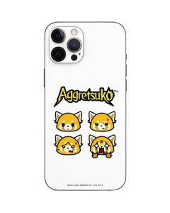 Aggretsuko Expressions iPhone 12 Pro Skin