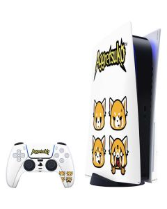 Aggretsuko Expressions PS5 Bundle Skin