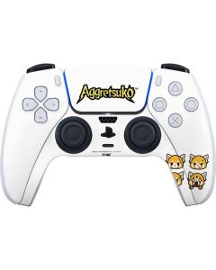 Aggretsuko Expressions PS5 Controller Skin