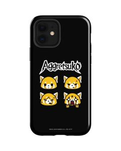 Aggretsuko Facial Expressions iPhone 12 Case
