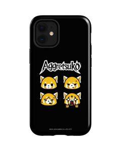 Aggretsuko Facial Expressions iPhone 12 Mini Case
