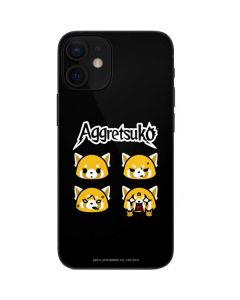 Aggretsuko Facial Expressions iPhone 12 Mini Skin