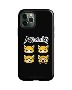 Aggretsuko Facial Expressions iPhone 12 Pro Case