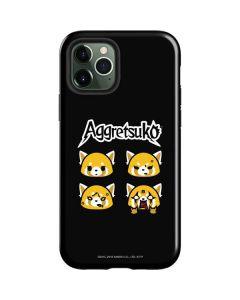 Aggretsuko Facial Expressions iPhone 12 Pro Max Case