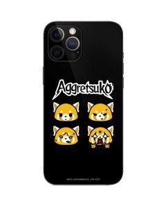 Aggretsuko Facial Expressions iPhone 12 Pro Max Skin