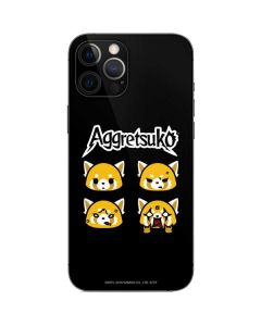 Aggretsuko Facial Expressions iPhone 12 Pro Skin