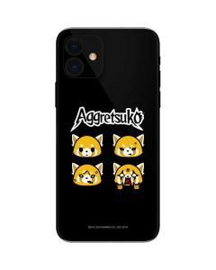 Aggretsuko Facial Expressions iPhone 12 Skin