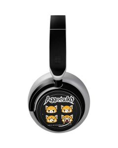 Aggretsuko Facial Expressions Surface Headphones Skin