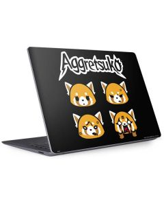 Aggretsuko Facial Expressions Surface Laptop 3 13.5in Skin