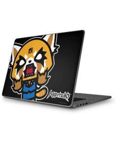 Aggretsuko Fed Up Apple MacBook Pro 17-inch Skin
