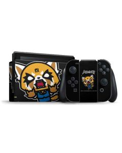 Aggretsuko Fed Up Nintendo Switch Bundle Skin