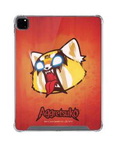 Aggretsuko Furious iPad Pro 12.9in (2020) Clear Case