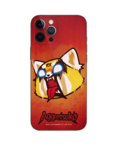 Aggretsuko Furious iPhone 12 Pro Skin