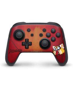 Aggretsuko Furious Nintendo Switch Pro Controller Skin