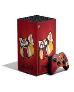 Aggretsuko Furious Xbox Series X Bundle Skin