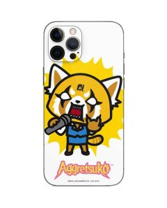 Aggretsuko Karaoke Queen iPhone 12 Pro Skin