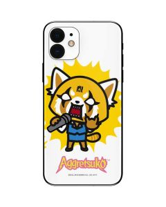 Aggretsuko Karaoke Queen iPhone 12 Skin