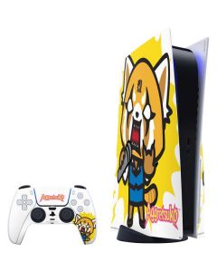 Aggretsuko Karaoke Queen PS5 Bundle Skin