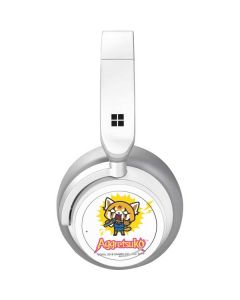 Aggretsuko Karaoke Queen Surface Headphones Skin