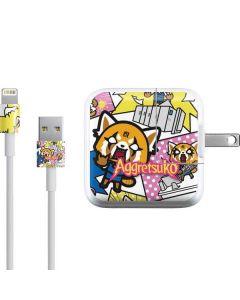 Aggretsuko Blast iPad Charger (10W USB) Skin