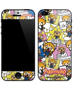 Aggretsuko Blast iPhone 5/5s/5SE Skin