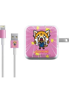 Aggretsuko Breaking Point iPad Charger (10W USB) Skin