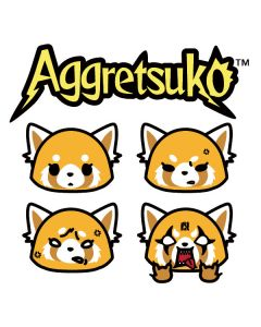 Aggretsuko Expressions Apple AirPods 2 Skin