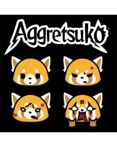 Aggretsuko Facial Expressions Playstation 3 & PS3 Slim Skin