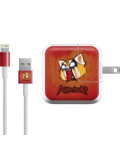 Aggretsuko Furious iPad Charger (10W USB) Skin