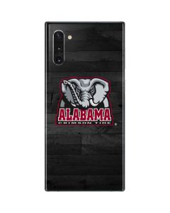 Alabama Basketball Wood Galaxy Note 10 Skin